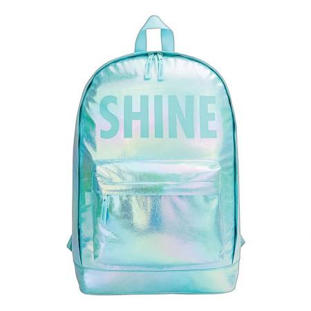Mochila escolar grande sem roda - 315923 - Académie Shine Verde - Tilibra