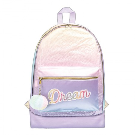 Mochila escolar grande sem roda - 312185 - Académie Dream - Tilibra