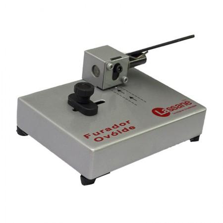Perfurador ovóide de crachás 1 furo - 1197 - Lassane