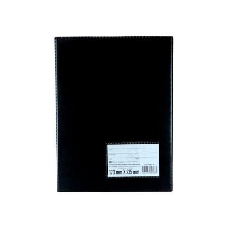 Pasta catalogo com visor 1/2 - 1026 - com 10 envelopes plásticos - Dac
