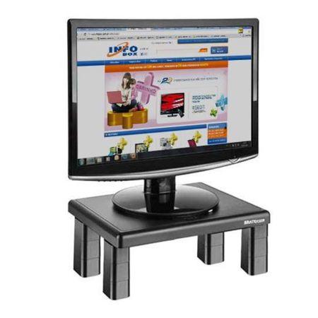 Suporte para monitor quadrado preto 4 níveis de ajuste AC125 - Multilaser
