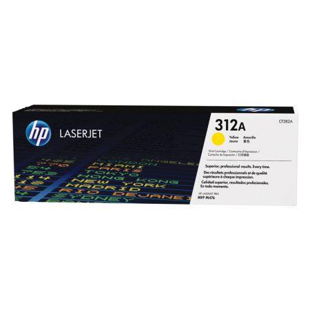 Toner HP Original (312A) CF382A - amarelo 2700 páginas