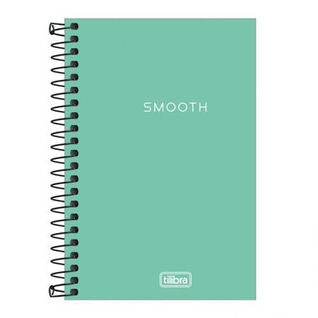 Caderneta capa plástica 1/8 Neon Turquesa S/P 80 Fls - Tilibra
