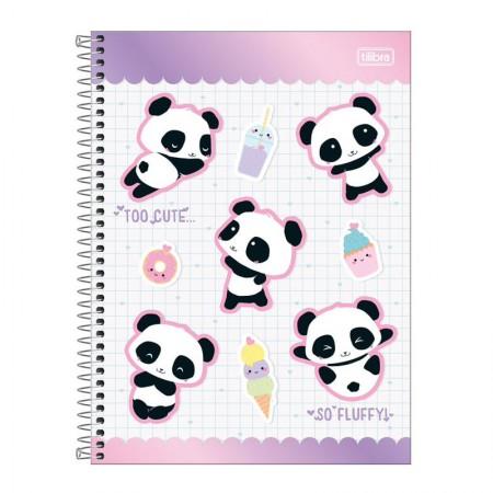 Caderno espiral capa dura universitário 1x1 - 80 folhas - Lovely Friend -  Capa 2 - Tilibra