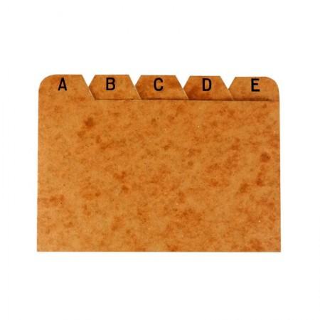 Índice cartão timbo AZ 5X8 - Delucas