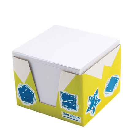 Papel lembrete branco 85x90 mm 700fls Zolar Papeis