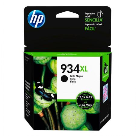 Cartucho HP Original (934XL) C2P23AL - preto rendimento 1.000 páginas