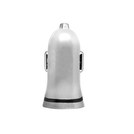 Carregador veicular - 1 saída usb - I2GCAR012 - Colorido - Branco - I2GO