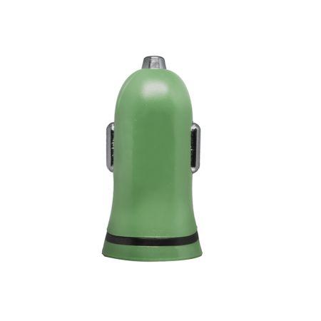 Carregador veicular - 1 saída usb - I2GCAR012 - Colorido - Verde - I2GO