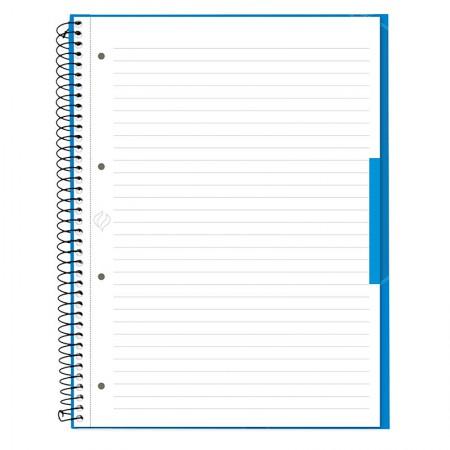 Caderno universitário profissional Escrita (Oxford) - 80 folhas - azul turquesa - Canson