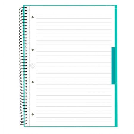 Caderno universitário profissional Escrita (Oxford) - 80 folhas - verde tiffany - Canson