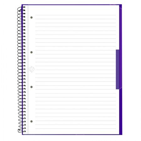 Caderno universitário profissional Escrita (Oxford) - 80 folhas - ultra violeta - Canson