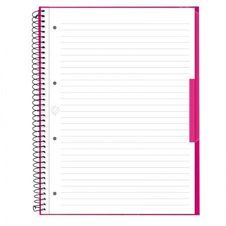 Caderno universitário profissional Escrita (Oxford) - 80 folhas - rosa pink - Canson