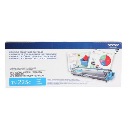 Toner Brother TN225C - ciano 2200 páginas