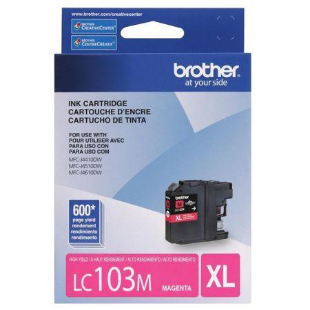 Cartucho Brother LC103M - magenta 600 páginas