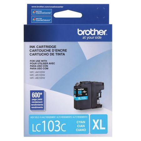 Cartucho Brother LC103C - ciano 600 páginas