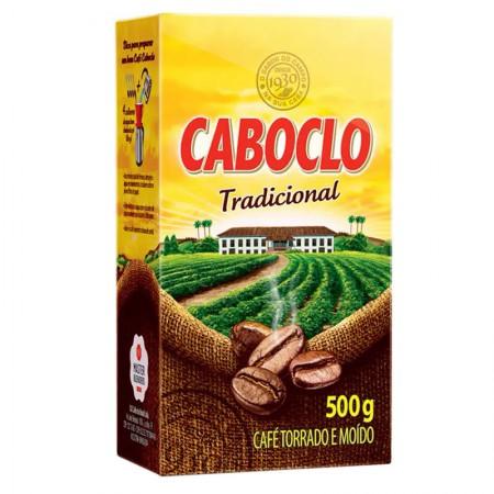 Café Caboclo tradicional - pacote com 500 grs