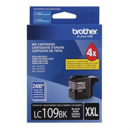 Cartucho Brother LC109BK - preto 2400 páginas