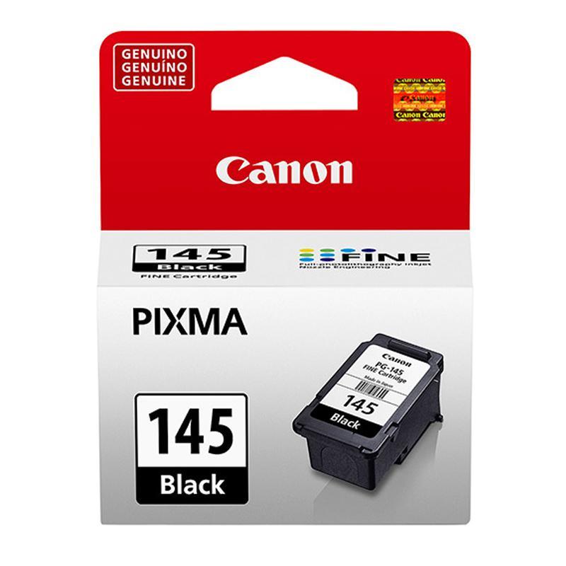 Cartucho Canon PG145 - preto 8ml - serie Pixma MG2410