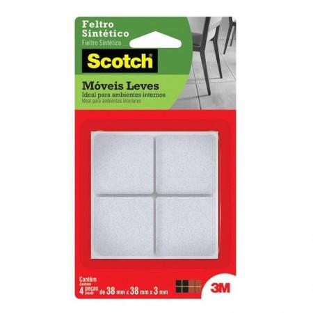 Feltro Scotch branco - quadrado - GG - 3M