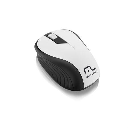 Mouse sem fio óptico MO216 preto/branco - Multilaser