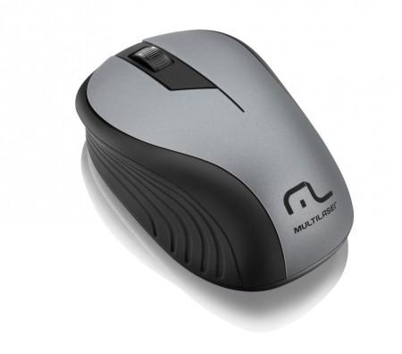 Mouse sem fio MO213 grafite - Multilaser