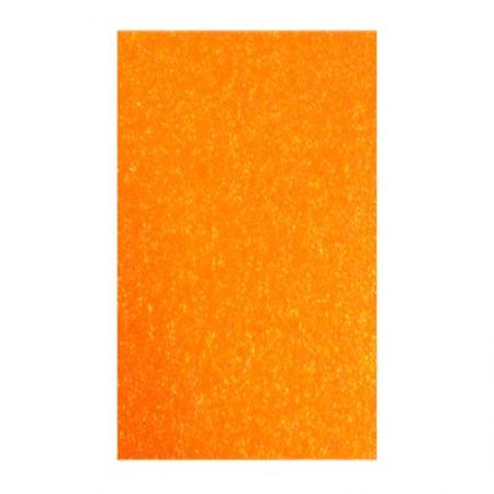 Placa de EVA 40x60cm - com glitter laranja - Seller