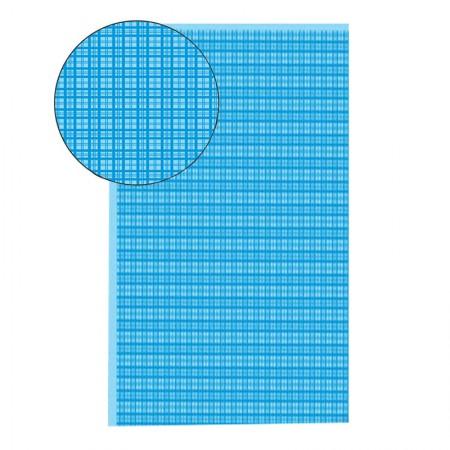 Placa de EVA 40X60cm - estampada xadrez azul - Seller