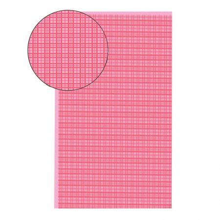 Placa de EVA 40X60cm - estampada xadrez rosa - Seller