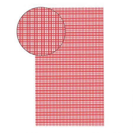 Placa de EVA 40X60cm - estampada xadrez vermelho - Seller