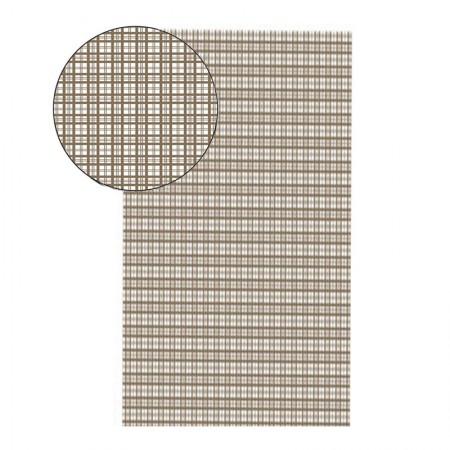Placa de EVA 40X60cm - estampada xadrez cinza - Seller