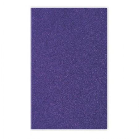 Placa de EVA 40x60cm - com glitter azul royal - Seller