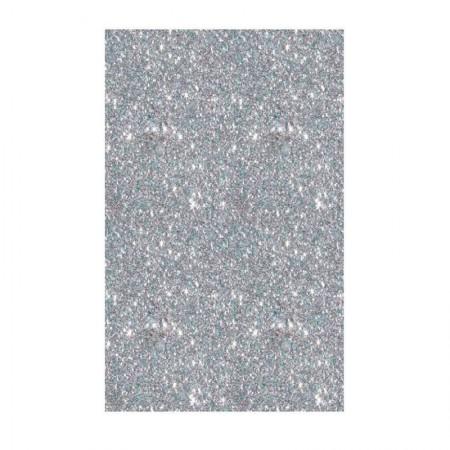 Placa de EVA 40X60cm - com glitter prata - Seller