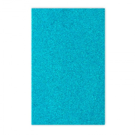 Placa de EVA 40x60cn - com glitter azul claro - Seller