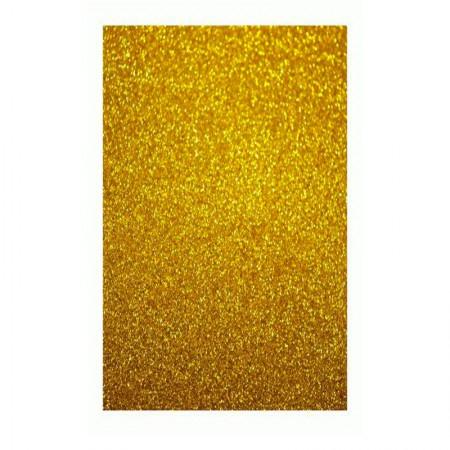Placa de EVA 40x60cm - com glitter dourado - Seller
