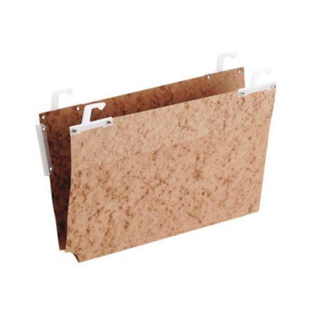 Pasta suspensa vetro lateral - castanho - 0418.F - Dello