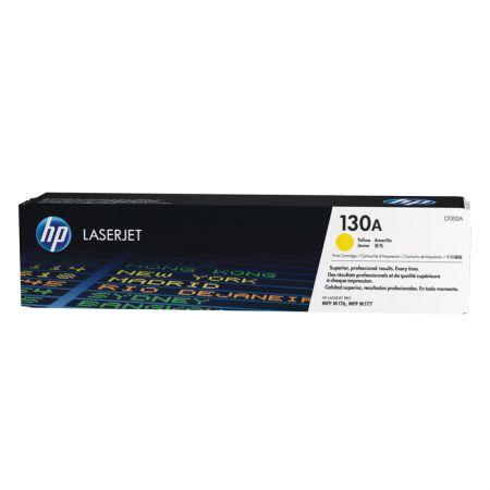 Toner HP Original (130A) CF352A - amarelo 1000 páginas