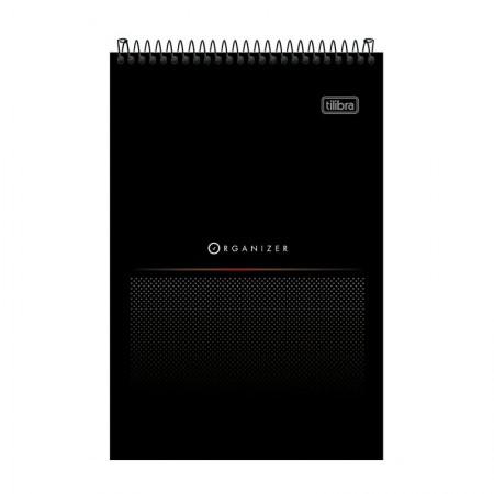 Bloco espiral pautado pequeno Organizer - 80 folhas - 156264 - Tilibra