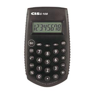 Calculadora de bolso C-108 - 8 dígitos - Cis