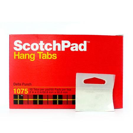 Etiqueta hang tab com 500 unidades - 1075 - 3M