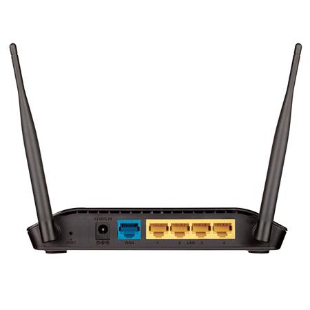 Roteador wireless + repetidor 5 portas 300Mbps DIR-615 - D-Link