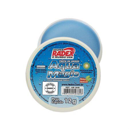 Molhador de dedos Aqua Magic - 12grs - Radex