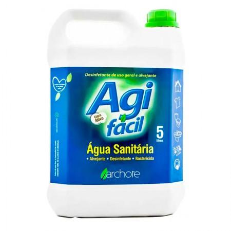 Água sanitária 5 litros - Agifácil