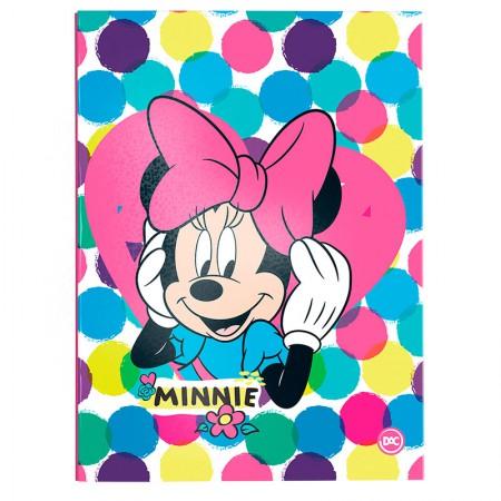 Pasta catálogo sem visor - 2845 - Minnie - com 10 envelopes plásticos - Dac