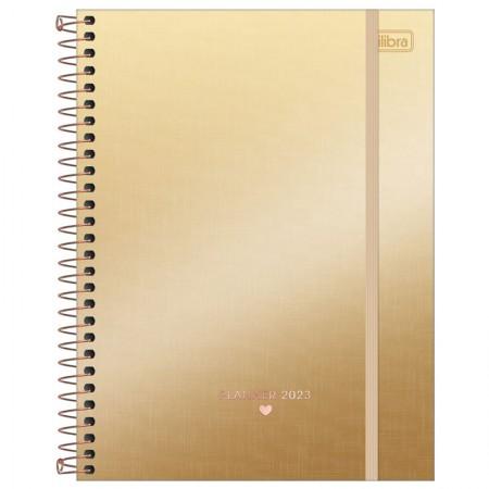 Agenda planner espiral semanal West Village Metalizada 2021 - Capa 3 - Tilibra