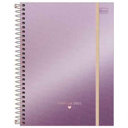 Agenda planner espiral semanal West Village Metalizada 2022 - Capa 4 - Tilibra