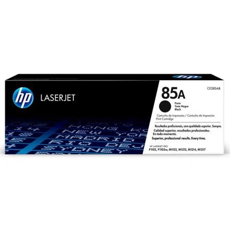 Toner HP Original (85A) CE285AB - preto 1600 páginas