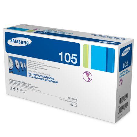 Toner Samsung MLT-D105S - preto 1500 páginas - serie SCX-4600