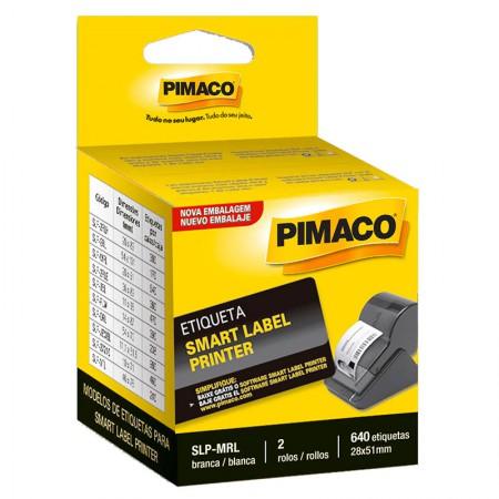 Etiqueta Smart Label SLP-MRL - com 640 etiquetas - Pimaco