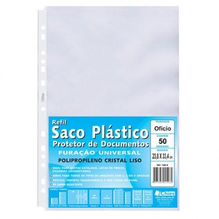 Envelope saco plástico ofício 1380 50 unid - Chies